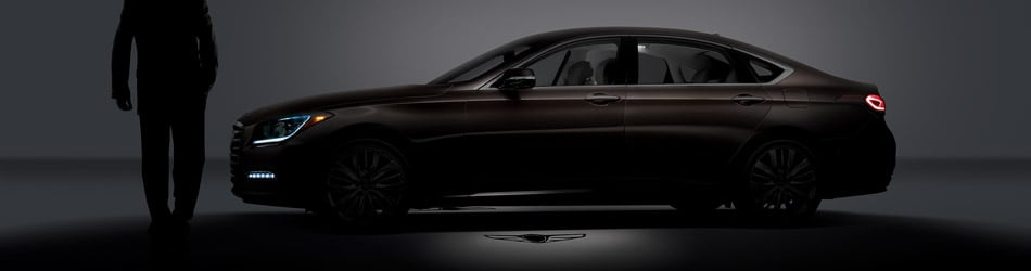 Genesis G80 dark profile