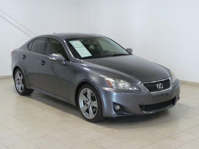 2012 LEXUS IS 250 RWD (M6) Sedan