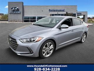 Buy a 2017 Hyundai Elantra Limited Sedan in Cottonwood, AZ