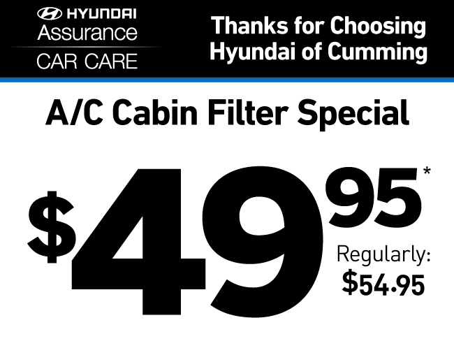 A/C Cabin Filter Special