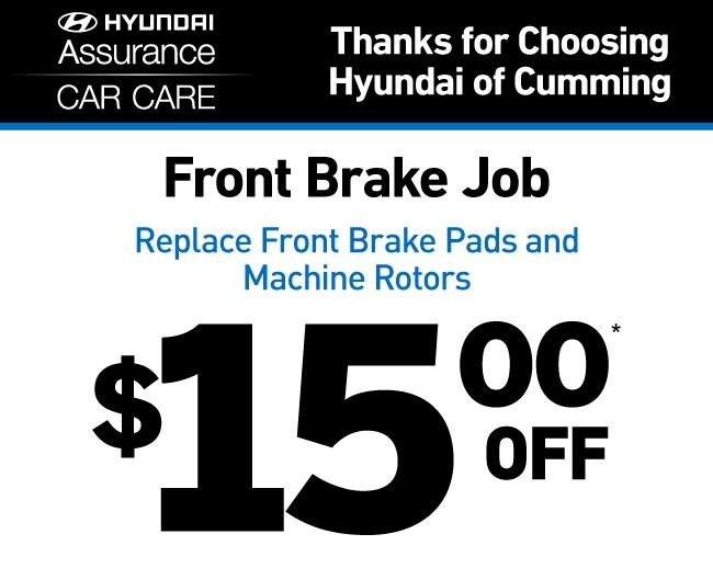 Front Brake Job