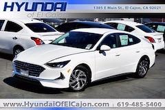 2021 Hyundai Sonata Hybrid Blue Sedan
