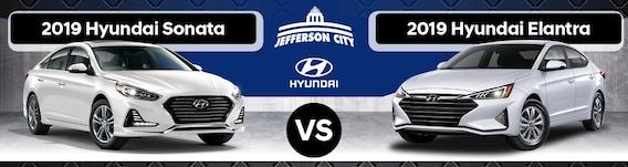 Elantra Vs Sonata >> 2019 Hyundai Sonata Vs 2019 Hyundai Elantra What S The Difference