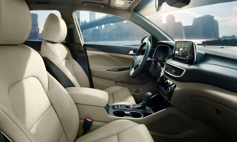 2020 Hyundai Tucson interior features