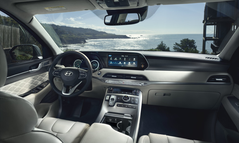 2020 Hyundai Palisade interior screen
