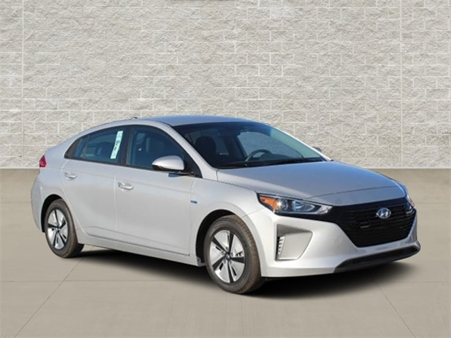 New  2019 Hyundai Ioniq Hybrid Blue Hatchback For Sale in Jefferson City, MO