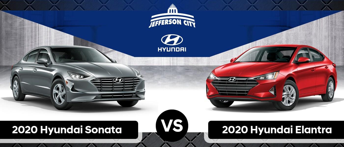 2020 Hyundai Sonata vs. 2020 Hyundai Elantra: What's the ...
