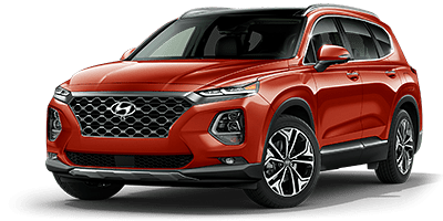 2020 Hyundai Santa Fe Limited 2.0T - Orange
