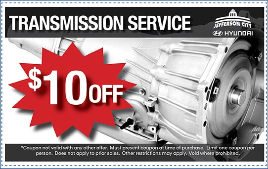 $10 Off Transmission Service | Jefferson City, MO