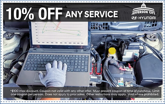 10% off any Service | Jefferson City, MO