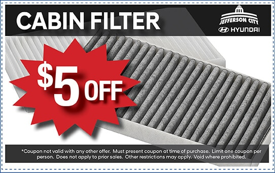 $5 Off Cabin Filter | Jefferson City, MO