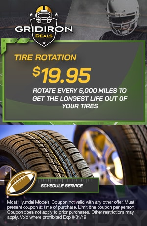 Summer Tire Rotation Special