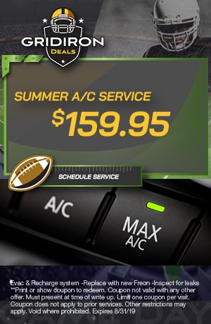 Summer A/C Service Special