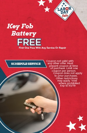 Key Fob Battery Special
