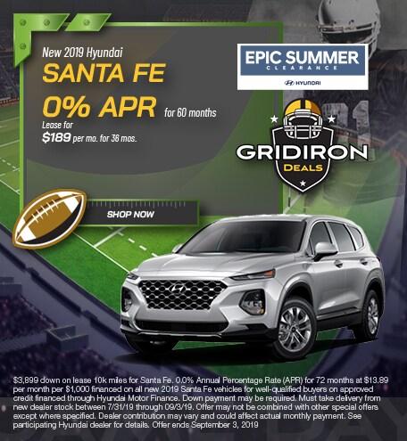 August 2019 Santa Fe Special