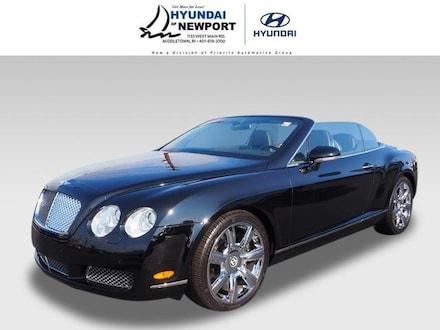 2007 Bentley Continental GTC AWD Convertible