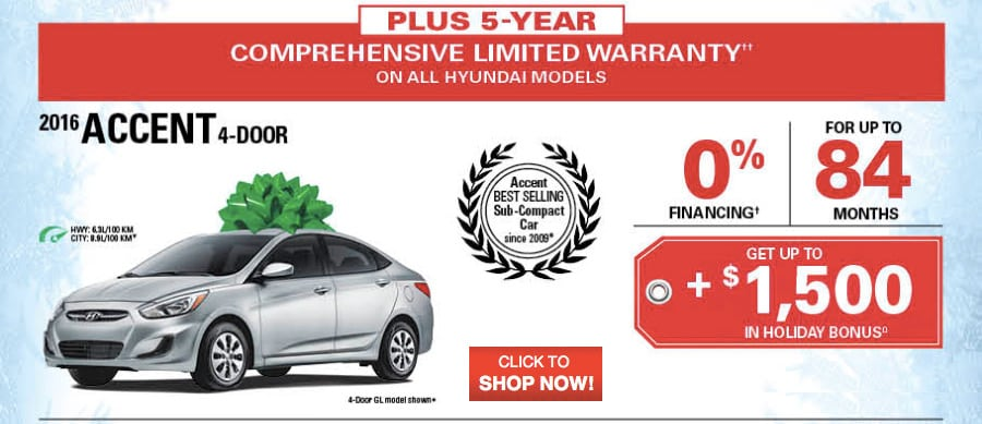 Hyundai S Year End Clearance Event In Oakville Ontario