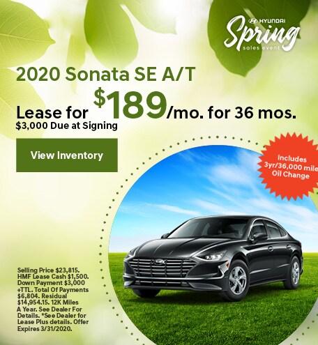 2020 - Sonata - March