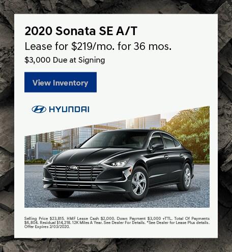 2020 - Sonata - January