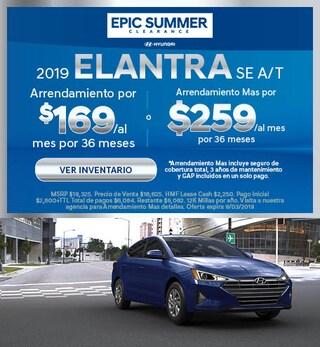 2019 - Elantra - August
