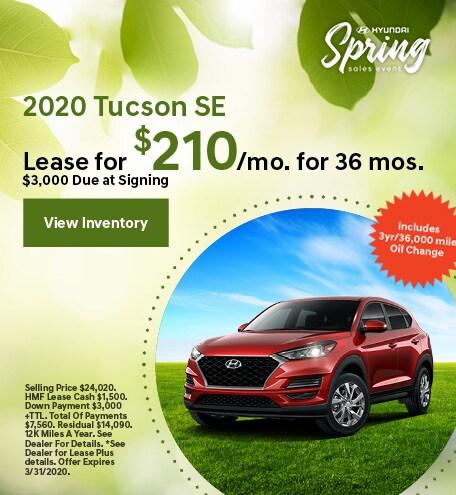 2020 - Tucson - March