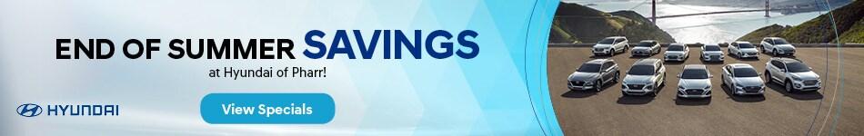 2019 - End of Summer Savings - September