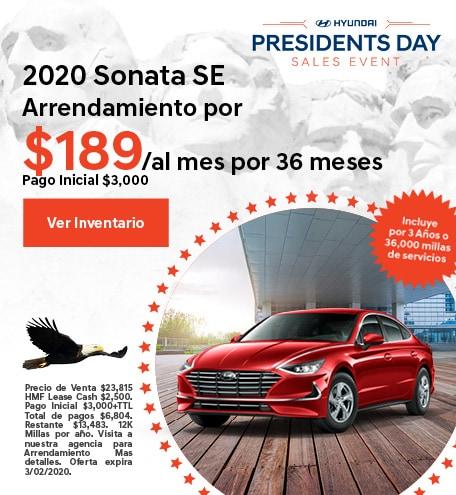 2020 - Sonata - February
