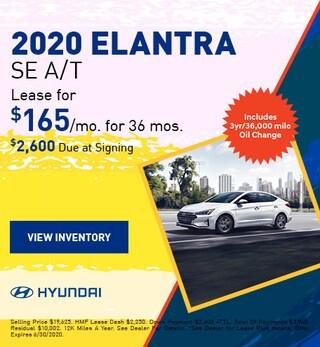 2020 - Elantra - June