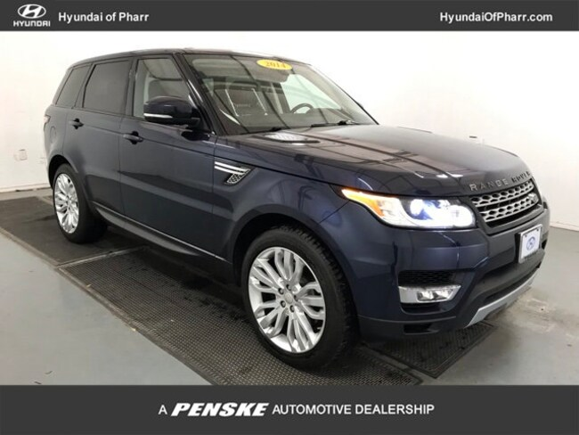 Used 2014 Land Rover Range Rover Sport 3.0L V6 Supercharged HSE SUV for Sale in Pharr, TX