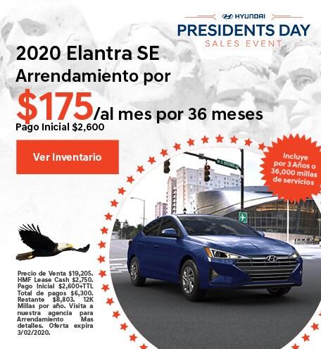 2020 - Elantra - February