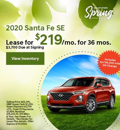2020 - Santa Fe - March