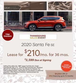 2020 - Santa Fe - November