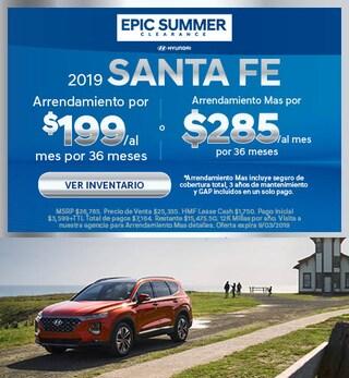 2019 - Santa Fe - August