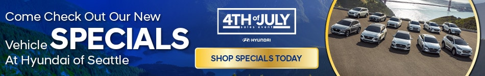 Come Check Out Our New Vehicle Specials at Hyundai of Seattle