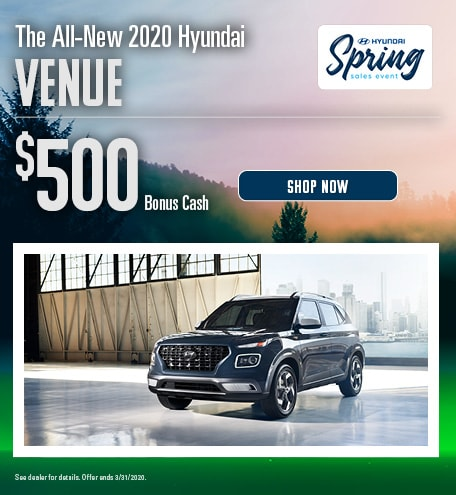 2020 Hyundai Venue - March Offer