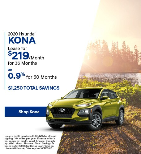 2020 Kona - October Offer