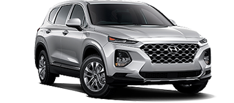 2020 Hyundai Santa Fe AWD shown