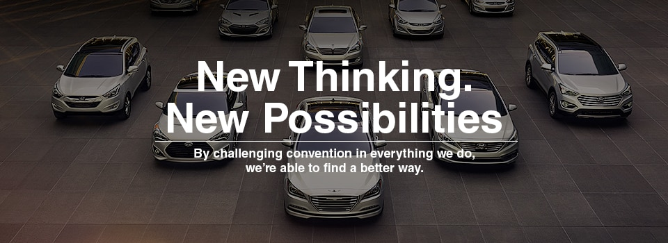 New Thinking. New Possibilities