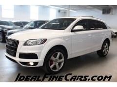 2012 Audi Q7 3.0 SPORT SLINE/NAV/7PASS/PANO/BLINDSPOTASSIST! SUV