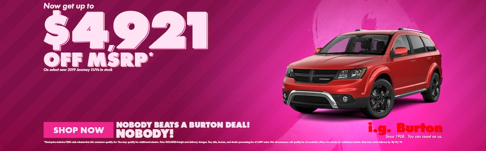 Save big on a new Dodge Journey!