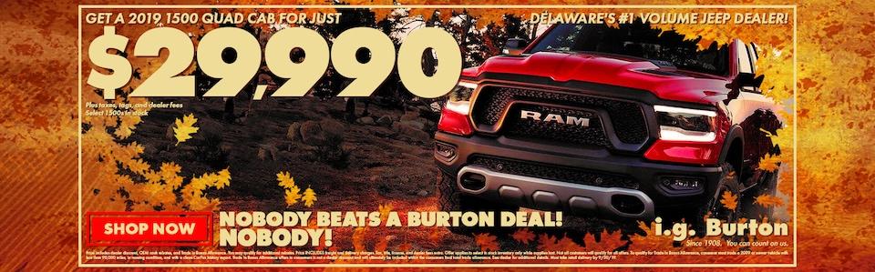 Save big on a new Ram 1500!
