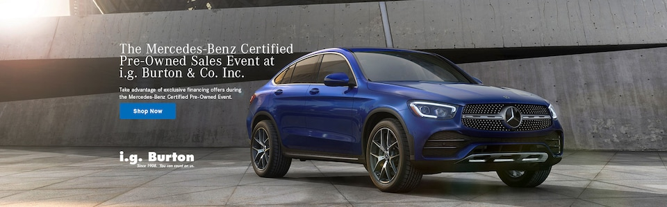 The Certified Pre-Owned Event at i.g. Burton & Co. Inc.