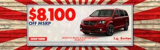Save big on a new Dodge Grand Caravan!
