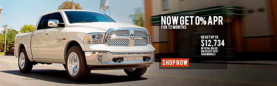 0% APR or up to $12,734 in Total Value