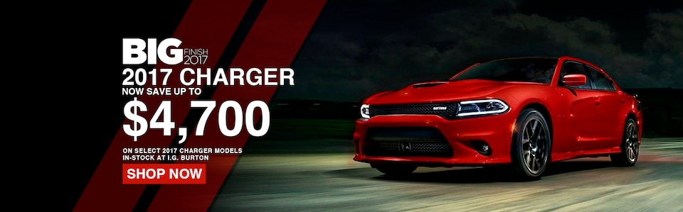 Save up to $4,700 on a new Charger!