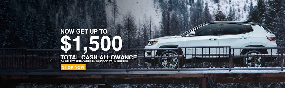 Up to $1,500 Total Cash Allowance
