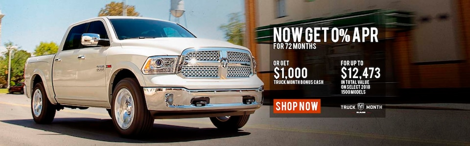 Save BIG on a new Ram 1500 from i.g. Burton!