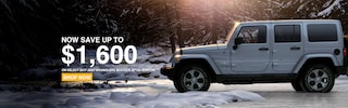 Save up to $1,600 on Select Wranglers