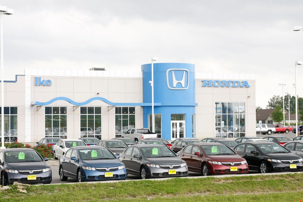 Auto Financing Center Ike Honda Marion Carbondale Il