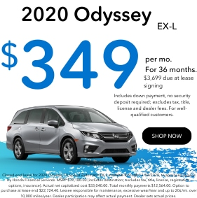 2020 Odyssey Lease Sept